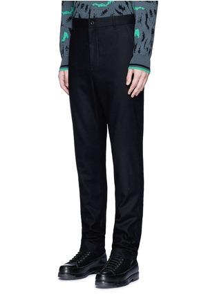 正面 -点击放大 - SACAI - 单色羊毛长裤
