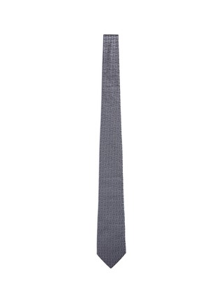 首图 - 点击放大 - ARMANI COLLEZIONI - 几何及圆点图案真丝领带