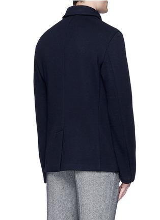 背面 - 点击放大 - ARMANI COLLEZIONI - 双排扣混羊毛外套
