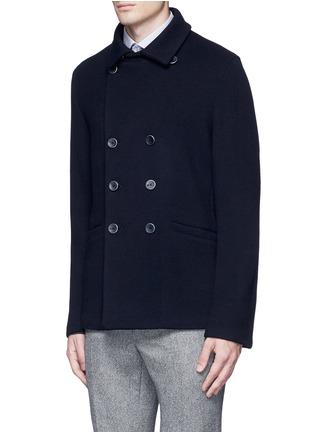正面 -点击放大 - ARMANI COLLEZIONI - 双排扣混羊毛外套