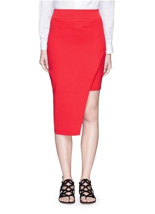 首图 - 点击放大 - NICHOLAS - 斜裁双层弧形针织半身裙