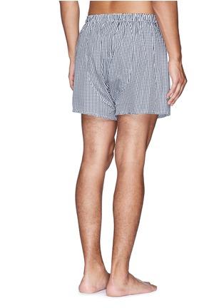背面 - 点击放大 - SUNSPEL - 纯棉格纹内裤