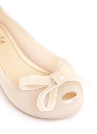 细节 - 点击放大 - MELISSA - ULTRAGIRL儿童款蝴蝶结PVC平底鞋