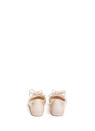 背面 - 点击放大 - MELISSA - ULTRAGIRL儿童款蝴蝶结PVC平底鞋