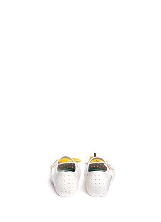 背面 - 点击放大 - MELISSA - FURADINHA IX幼儿款香蕉装饰PVC平底鞋