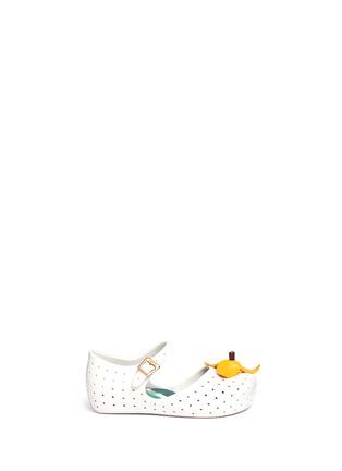 首图 - 点击放大 - MELISSA - FURADINHA IX幼儿款香蕉装饰PVC平底鞋