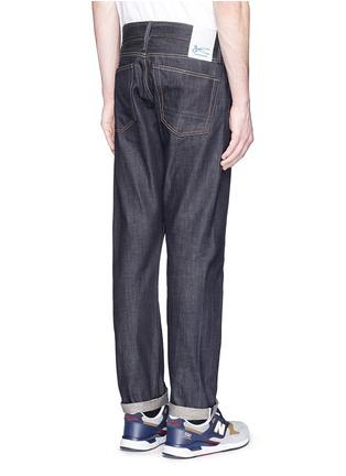 背面 - 点击放大 - DENHAM - RAZOR条纹锁边修身牛仔裤