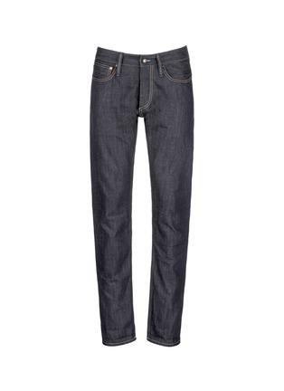 首图 - 点击放大 - DENHAM - RAZOR条纹锁边修身牛仔裤