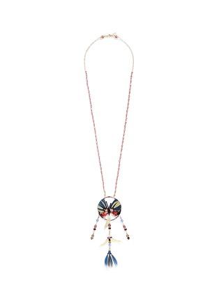 首图 - 点击放大 - VALENTINO - 蝴蝶羽毛珠饰项链