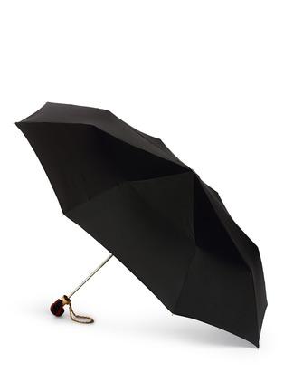 模特示范图 - 点击放大 - Alexander McQueen - Cross skull handle folding umbrella