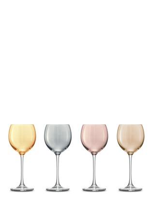 首图 –点击放大 - LSA - Polka wine glass set - Assorted Metallics