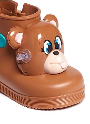 细节 - 点击放大 - MELISSA - x JEREMY SCOTT幼儿款小熊造型PVC短靴