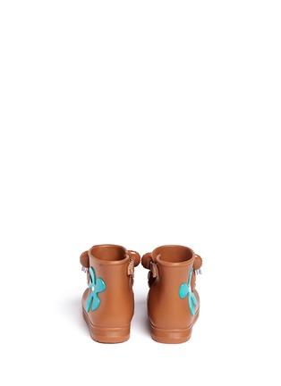 背面 - 点击放大 - MELISSA - x JEREMY SCOTT幼儿款小熊造型PVC短靴