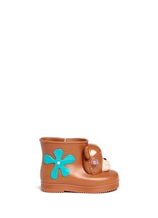 首图 - 点击放大 - MELISSA - x JEREMY SCOTT幼儿款小熊造型PVC短靴