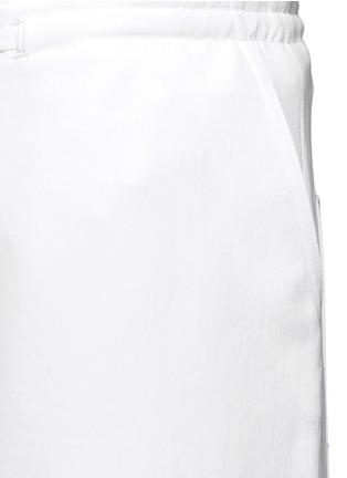 细节 - 点击放大 - TIBI - 工装款皱感长裤