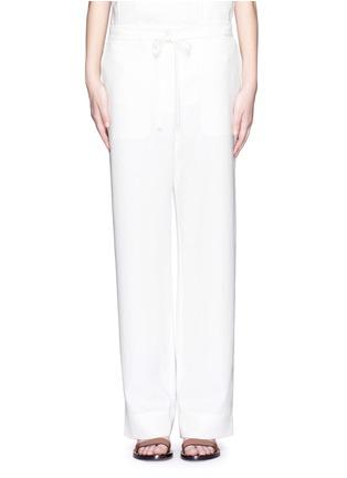 首图 - 点击放大 - TIBI - 工装款皱感长裤