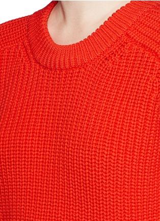 细节 - 点击放大 - ALEXANDERWANG.T - 单色混棉针织衫