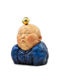 "X+Q ""金苹果""限量版雕塑"