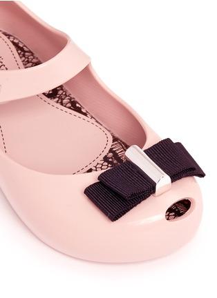 细节 - 点击放大 - MELISSA - x JASON WU ULTRAGIRL幼儿款蝴蝶结PVC平底鞋