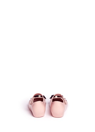 背面 - 点击放大 - MELISSA - x JASON WU ULTRAGIRL幼儿款蝴蝶结PVC平底鞋