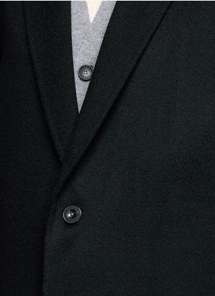 细节 - 点击放大 - ACNE STUDIOS - CHARLES羊毛混羊绒及膝长大衣