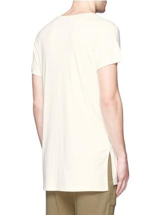 背面 - 点击放大 - NLST - 长款纯棉T恤