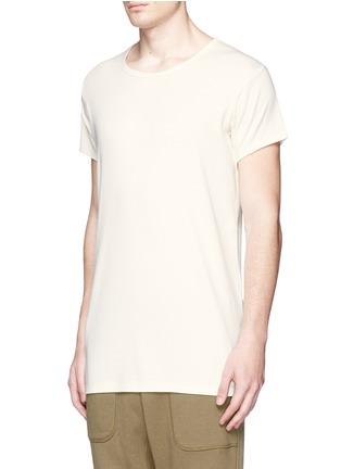 正面 -点击放大 - NLST - 长款纯棉T恤
