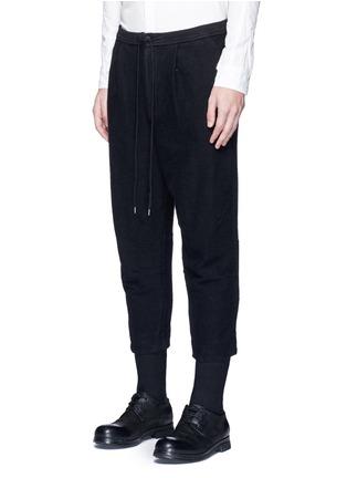 正面 -点击放大 - THE VIRIDI-ANNE - 低档褶裥纯棉七分裤