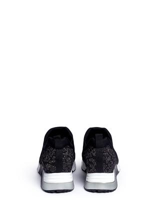 背面 - 点击放大 - ASH - LUV凹凸豹纹气垫运动鞋