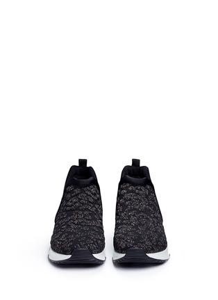 正面 - 点击放大 - ASH - LUV凹凸豹纹气垫运动鞋