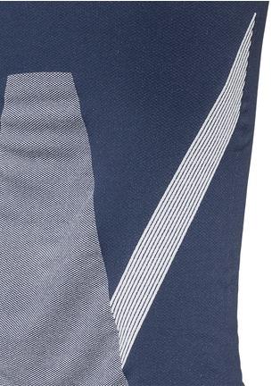 细节 - 点击放大 - LNDR - COMPASS条纹弹力针织半身裙