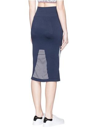 背面 - 点击放大 - LNDR - COMPASS条纹弹力针织半身裙