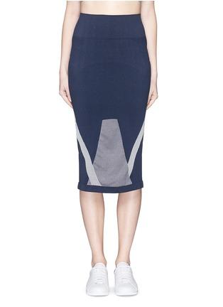 首图 - 点击放大 - LNDR - COMPASS条纹弹力针织半身裙