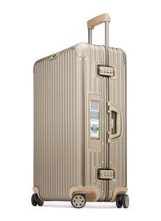 RIMOWA Topas Titanium Multiwheel® Electronic Tag电子标签行李箱(82升/30寸)