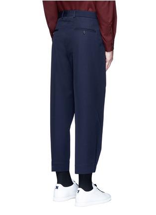 背面 - 点击放大 - MARNI - 褶裥羊毛及踝裤