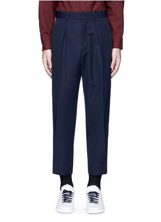 首图 - 点击放大 - MARNI - 褶裥羊毛及踝裤