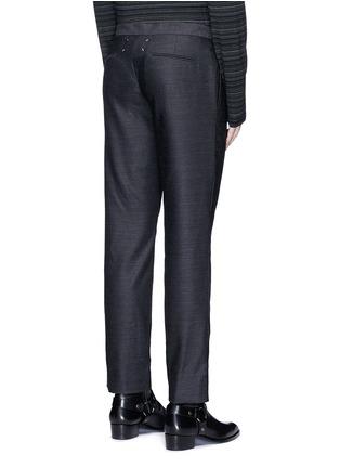 背面 - 点击放大 - MAISON MARGIELA - 羊毛九分西服裤