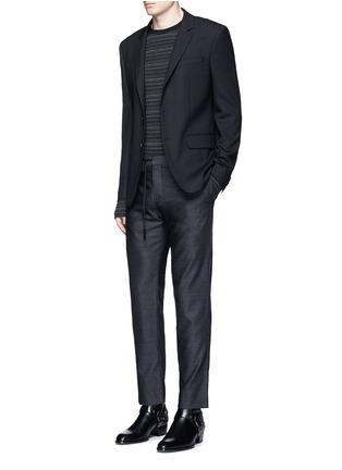 模特儿示范图 - 点击放大 - MAISON MARGIELA - 羊毛九分西服裤