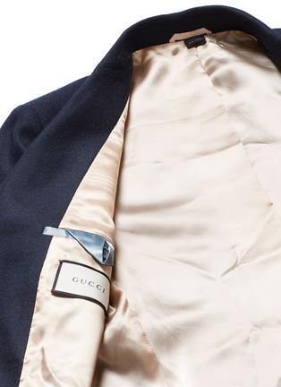 - GUCCI - 小鸟徽章羊绒西服外套