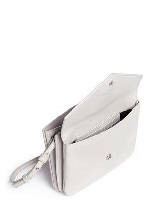 细节 - 点击放大 - SAINT LAURENT - 品牌标志真皮单肩包