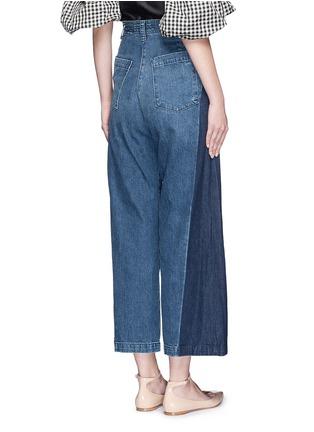 背面 - 点击放大 - RACHEL COMEY - 拼色喇叭阔腿牛仔裤