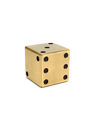 首图 –点击放大 - L'OBJET - 仿旧黄铜色子收纳盒
