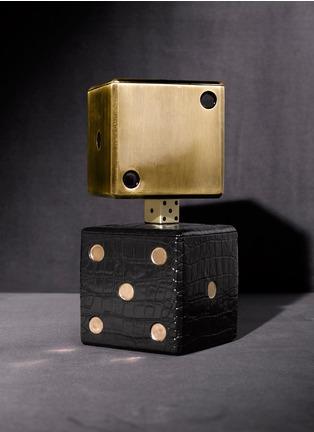 - L'OBJET - 仿旧黄铜色子收纳盒
