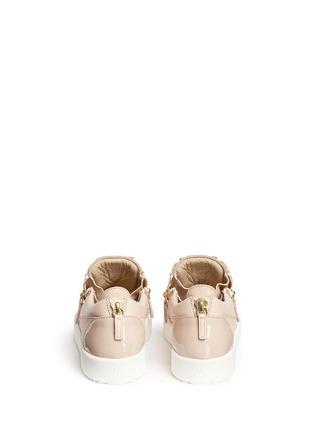 背面 - 点击放大 - GIUSEPPE ZANOTTI DESIGN - May London拼皮低筒运动鞋