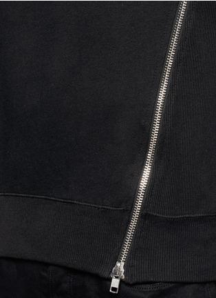 细节 - 点击放大 - SIKI IM / DEN IM - 拉链装饰纯棉卫衣