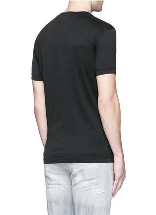 背面 - 点击放大 - DSQUARED2 - 骷髅图案纯棉T恤