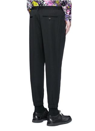 背面 - 点击放大 - DSQUARED2 - 压褶松紧带混羊毛休闲裤