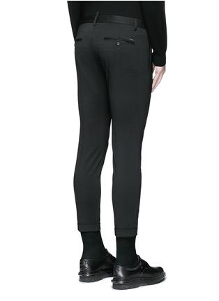 背面 - 点击放大 - DSQUARED2 - 羊毛修身八分西服裤