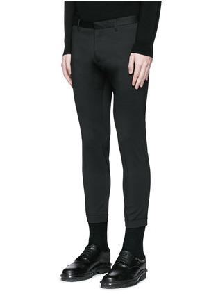 正面 -点击放大 - DSQUARED2 - 羊毛修身八分西服裤