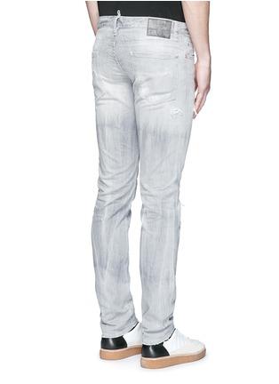背面 - 点击放大 - DSQUARED2 - Slim水洗磨破修身牛仔裤